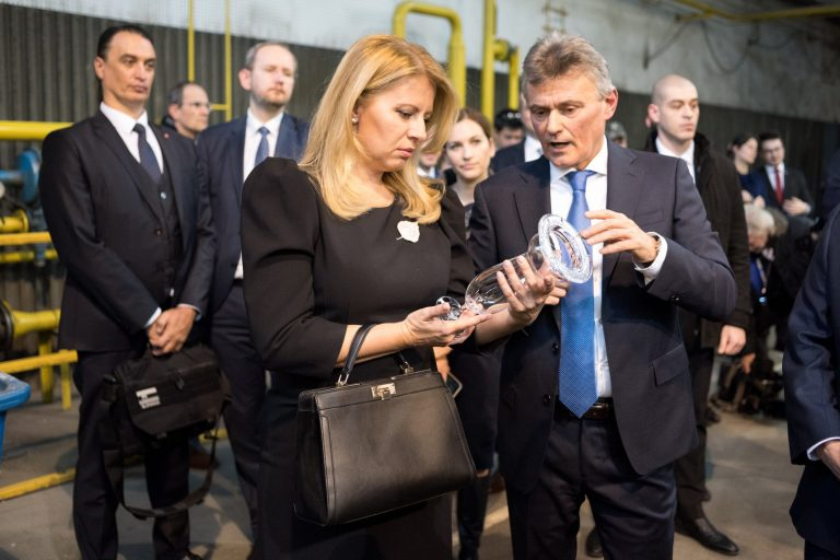 The President of Slovak Republic visited our factory