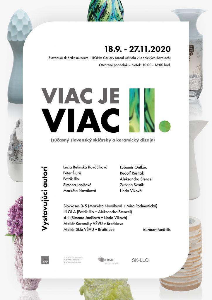 Výstava VIAC JE VIAC II.