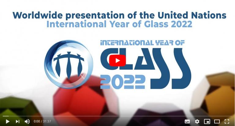 Medzinárodná prezentácia International Year of Glass 2022