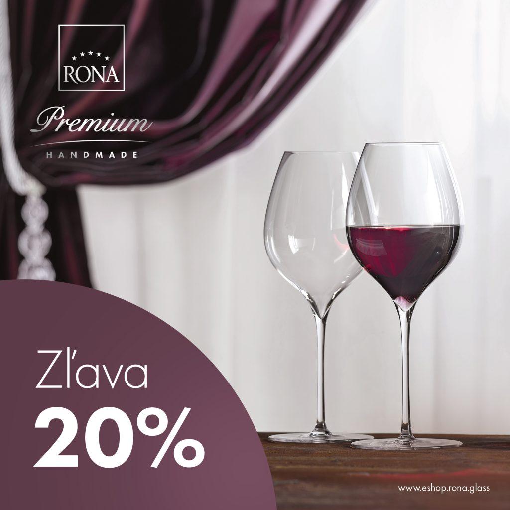 20% zľava na ručnú kolekciu RONA Premium